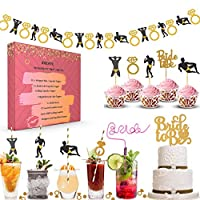 单身女郎派对装饰套件 I Bar 零食桌装饰 I 新娘淋浴用品 Bachelorette Party Decorations Kit Pack of 240+ Bridal shower party supplies decorations