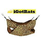 iGotRats 双层老鼠吊床 | 豹纹印花