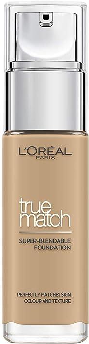 L'Oreal Paris 巴黎欧莱雅 True Match 粉底液 3W Golden Beige 30ml