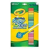 "Crayola 超级 Tips 水洗 markers-50 / 包 – "" 样式可能有所不同 """