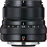 Fujifilm FUJINON XF23 毫米 F2 R WR 广角镜头X Series 黑色 需配变压器