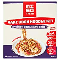 Miso Tasty Yaki Udon Noodle Meal Kit 472 g Pack of 4