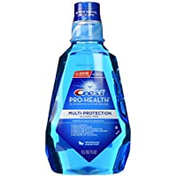 Crest pro- HEALTH multiprotection rinse-clean mint-50.7盎司,1.5liter
