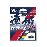 YGK(YGK) 尼龙线 远投篮 彩色10 300m 4号 5色