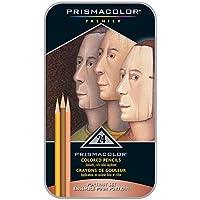 Prismacolor 三福霹雳马 24色肖像彩铅套装 彩色铅笔 油性彩芯 人像肤色绘画