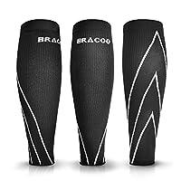 Bracoo 小牛皮压缩保护套, maximized 运动性能, minimized SHIN 夹板