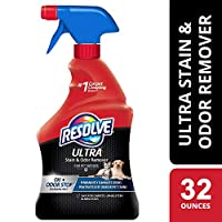 Resolve Ultra Urine Stain & Odor Eliminator for Pet Messes 去污剂 32-Ounce