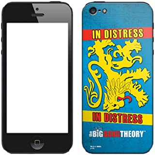 Zing Revolution The Big Bang Theory Premium Vinyl Adhesive Skin for iPhone 5, Apartment Flag (MS-TBBT80318)