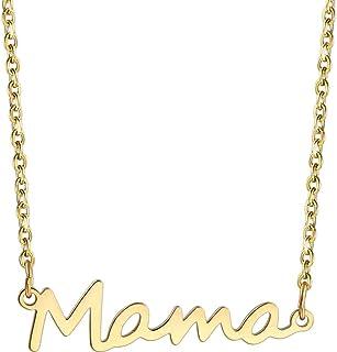 Jude Jewelers 不锈钢母亲节生日圣诞节妈妈魅力项链