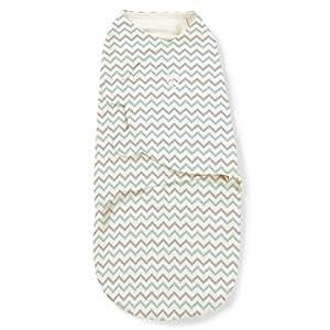 SwaddleMe Original Swaddle Blanket, Teal Chevron, Small