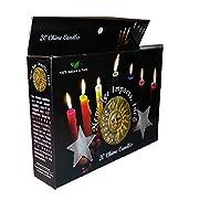 New Age Devotional 白色冥想迷你蜡烛(20 盒)