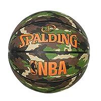 篮球 5号球 对应迷你篮球(小学生用) 户外用 木兰迷彩 NBA公认 鸭 篮球 篮球 83-798J