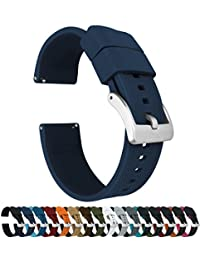 Barton Watch Bands Silicone Rubber 蓝色 ESQRNAVY23 表带