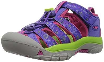 KEEN 中性童 户外运动凉鞋KIDS NEWPORT H2 1016594 Liberty monsters-(紫/红色) 26