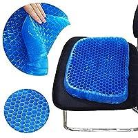 夏季蜂巢凝胶鸡蛋坐垫降温神器 高弹透气车载办公室沙发垫冰垫 (1套装)