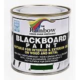 绿色黑板漆 - 250毫升适合用于液体粉笔和干粉笔