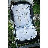 婴儿车衬垫/汽车座椅衬垫,Galaxy Star,Origami 灰色 GO2002