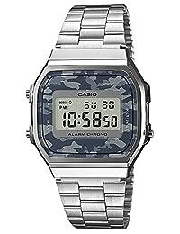 Casio A168WEC-1EF silver/camouflage (blue/g/gray size Uni