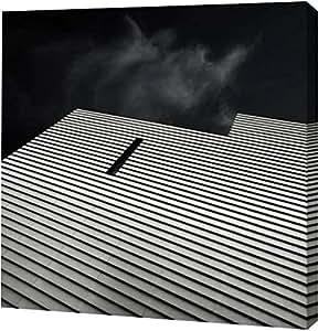 """PrintArt GW-POD-52-567EDW1006A-12x12""""Knoll View 2 Square"""" 由 DB Edwards 创作画廊装裱艺术微喷帆布艺术印刷品 30"""" x 30"""" GW-POD-52-567EDW1006A-30x30"""
