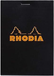 RHODIA 罗地亚 法国 经典上翻笔记本 黑色 N12方格 122009