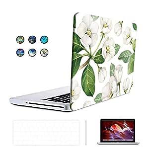 KONKY Macbook Pro 15 A1707 保护壳(2016 年发布),软触点防护硬质保护壳,适用于*新苹果 MacBook Pro 15 英寸配触控栏和触摸屏 ID