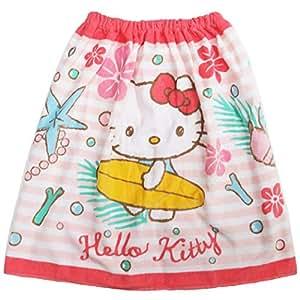 丸真 60cm长 卷毛巾 角色 女孩花纹 棉* 19 Sanrio Hello Kitty 60×120cm 3105009600