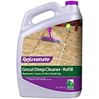 Rejuvenate Grout 深层清洁剂**清洁*瞬间去除多年的污垢,恢复原色的泥浆 RJ128DC 1 加仑 128
