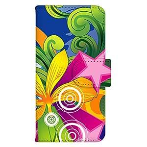 智能手机壳 手册式 对应全部机型 印刷手册 wn-449top 套 手册 图形艺术 UV印刷 壳WN-PR336655-MX Xperia Z4 SO-03G SOV31 402SO 图案E