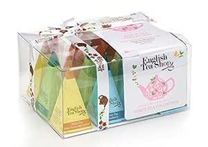 English Tea Shop 白茶 收藏版 礼盒装-12 个金字塔棱镜型