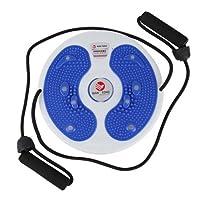 KANSOON 凯速 家用健身带拉绳扭腰盘 室内懒人运动减肥瘦腰收腹器材 多功能扭腰盘 (黄、蓝)颜色随机KN06