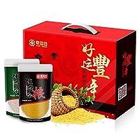 【年货礼盒】 幸运谷 五谷礼盒3.5kg 小米糙米玉米碴黄豆糯米春节团购