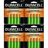 Duracell 16 X NEW AA 电池 可充电镍氢 Precharged 2400mAh