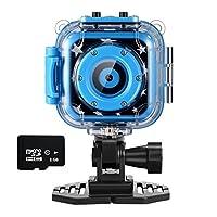 ourlife 儿童防水摄像机与视频录像机包括8GB 闪存