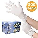 一次性乳胶手套,无粉末,触感光滑,食品服务等级,* 中 200.00
