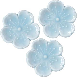 餐具汤匙架 新樱花 蓝色 4.5×4.5cm 3个装
