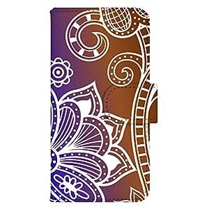 智能手机壳 手册式 对应全部机型 印刷手册 wn-463top 套 手册 阿拉伯风格 UV印刷 壳WN-PR310310-M Xperia A4 SO-04G B款