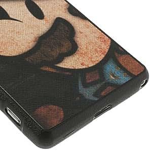 JUJEO *马里奥皮革外壳 TPU 手机壳 适用于索尼 Xperia Z2/D6503/D6502/D6543 - 非零售包装 - 多色