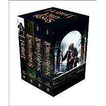 [英文原版] The Hobbit and The Lord of the Rings 霍比特人 指环王 魔戒四本套装