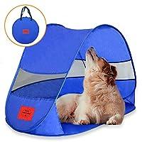 MyDeal 弹出式狗窝防风雨狗帐篷用于遮阳和紫外线* - 适合庭院、露营、沙滩和户外!