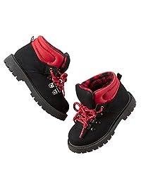 Carter's 男童系带靴;红色/黑色 (13)