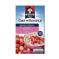 Quaker 桂格 草莓覆盆子味水果燕麦片 282g(英国进口)