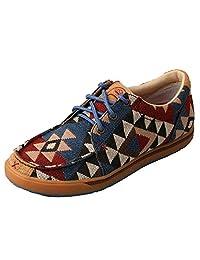 Twisted X 女士 Hooey 休闲帆布鞋图形印花