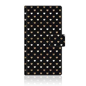 CaseMarket 【翻盖式】 SoftBank Galaxy S6EDGE 经典 ( SC ) 超薄壳针脚模型 [ 彩虹之心 S 超薄日记本颜色 ] SC - vcm2s2538Samsung