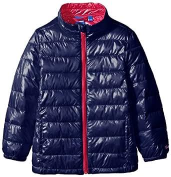 Disney 迪士尼童装 女童 Warm Padden轻盈系列保暖棉服 KRM5H1OWKG8008DB藏青色 120cm