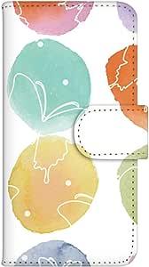 智能手机壳 手册式 对应全部机型 印刷手册 cw-078top 套 手册 蝴蝶 UV印刷 壳WN-PR081550-MX ARROWS M02 图案C