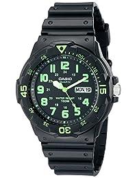 Casio Men's Sport MRW200H-3BV Black Plastic Japanese Quartz Watch