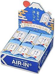 PLUS 普乐士 橡皮擦 空气内富士山橡皮擦 和 ER100AIF 12个set 36-591
