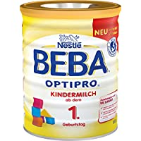 Nestlé雀巢 BEBA贝巴 OPTIPRO 婴幼儿奶粉 (1岁以上)可重复密封,附带量匙 800克每罐,6罐(6 x 800克)
