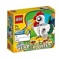 LEGO 乐高 拼插类玩具 金鸡年 40234