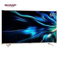 Sharp 夏普 LCD-60SU478A 60英寸4K超清智能液晶电视-全民K歌(亚马逊自营商品, 由供应商配送)
